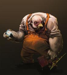 Chickenman by dav0512rt