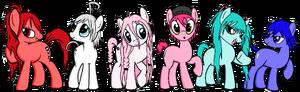 My little pony vocaloid style by bluexbabex1o7-d5ta5ah