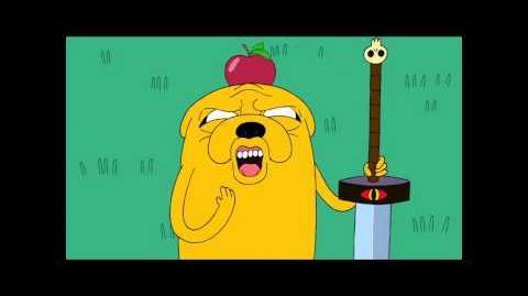 "Adventure Time - Jake screams ""Noooo!"""
