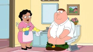 Family Guy Toilet Original