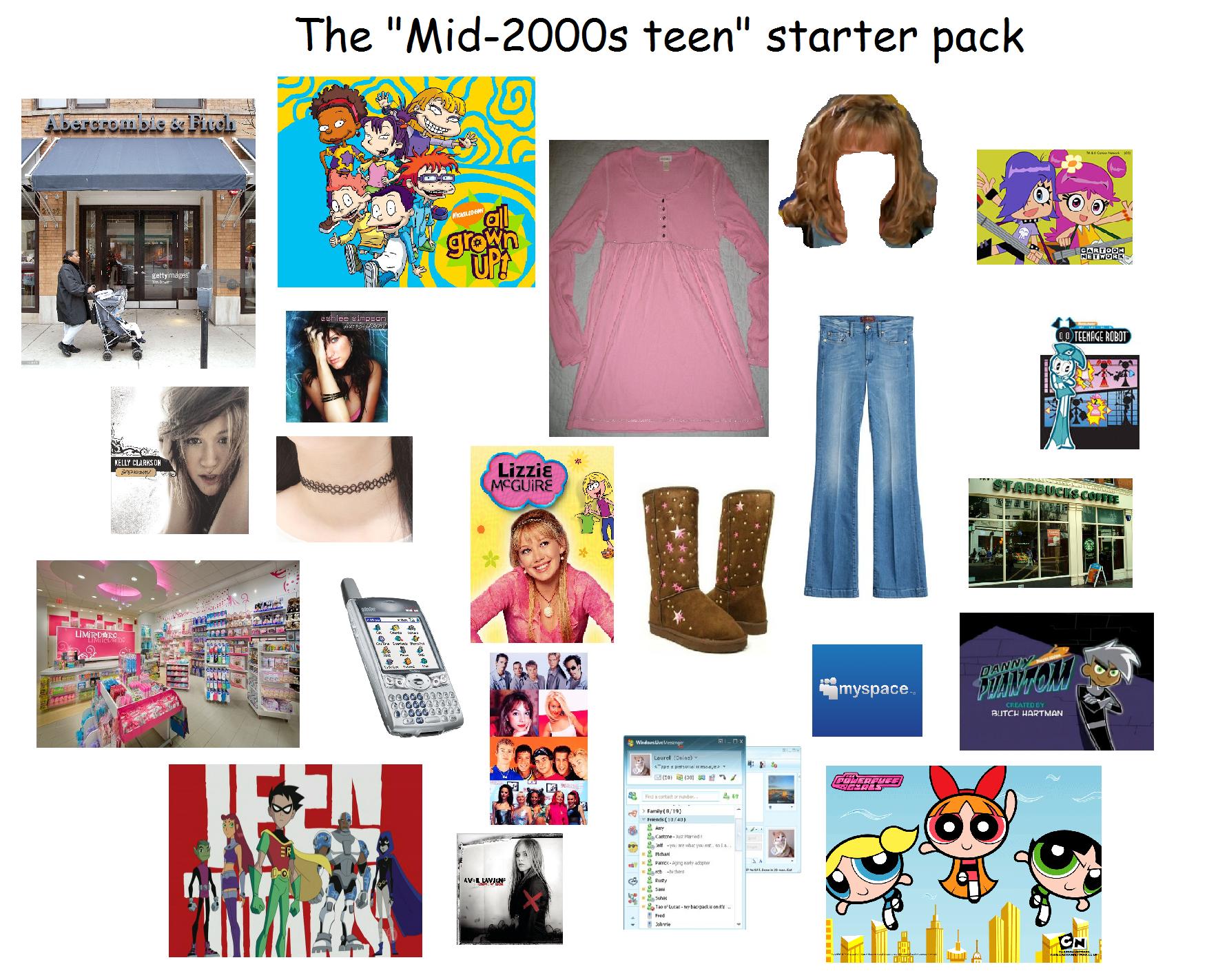 30s dating teenager starter pack