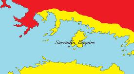 Sarradin empire under EmirII