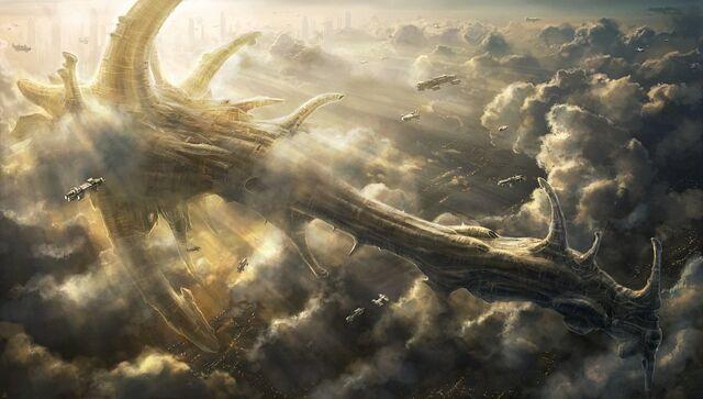 File:Ancient spaceship by radojavor-d471swo.jpg