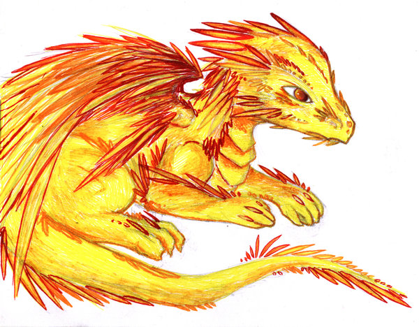 File:Red Feathered Dragon by Mortayla.jpg
