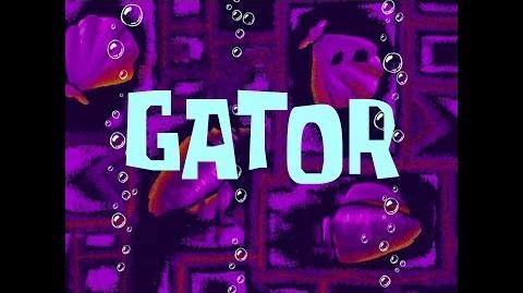 SpongeBob Music Gator 02