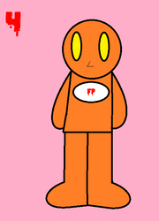 The 31 days Of Halloween Art- FP Orange man