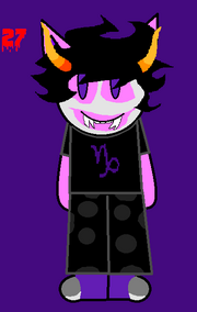 The 31 days Of Halloween Art- LMW As Gamzee