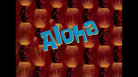 SpongeBob Music Aloha