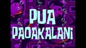 SpongeBob Music Pua Paoakalani (b)