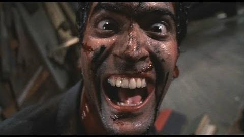 Evil Dead II Laughter Scene-1