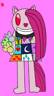 The 31 days Of Halloween Art-Hopeful Heart as Pinkamena