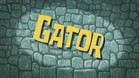 SpongeBob Music Gator 01
