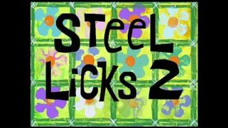SpongeBob Music Steel Licks 2