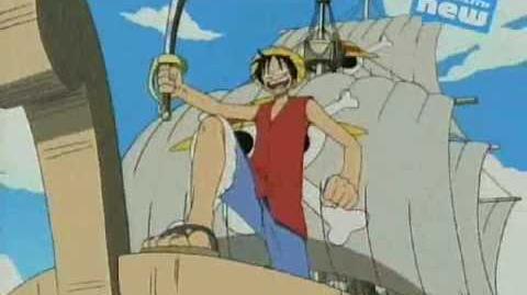 One Piece - 4kids Pirate Rap -English Opening