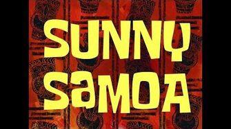 SpongeBob Music Sunny Samoa