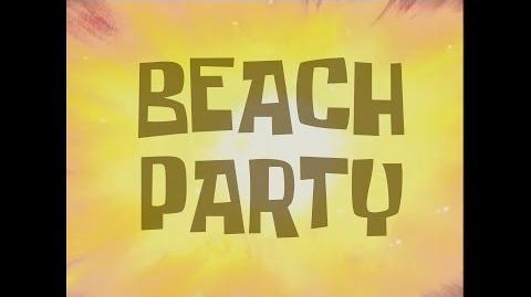 SpongeBob Music Beach Party