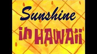 SpongeBob Music Sunshine in Hawaii