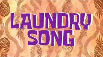 SpongeBob Music Laundry Song-0