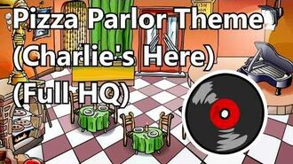 Club Penguin - Pizza Parlor Theme (Charlie's Here) Full HQ