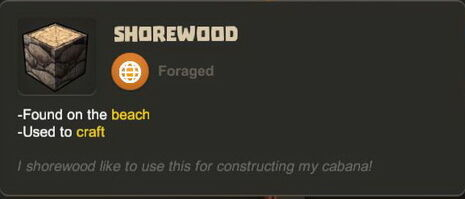 Creativerse R27 tooltips wood logs0707