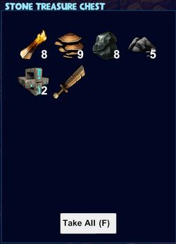 Stone treasure chest loot