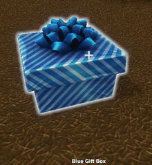 Creativerse Blue Gift Box 20 slots chest R26 89