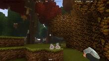 Creativerse Turnip Forest nex to Autumnwood1001
