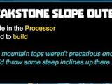 Peakstone Slope Outer Corner
