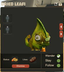 Creativerse Dried Leafi Pet R23 22456