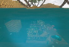 Creativerse underwater farming but just 1 beeswax 2019-02-28 03-20-00-20