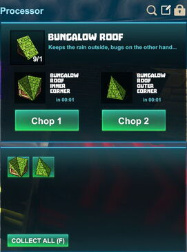 Creativerse R41,5 processing corners for roofs 509