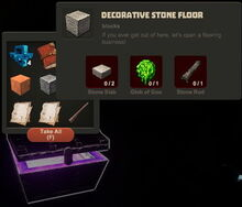 Creativerse Decorative Stone Floor Diamond Chest11