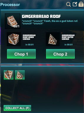 Creativerse R41,5 processing corners for roofs 507