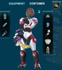 Creativerse costume example white metal 2018-08-22 21-37-22-44 5 basic armor costume sets
