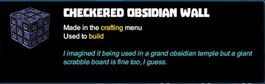 Creativerse tooltips R40 059 obsidian blocks crafted