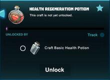 Creativerse unlocks R41 health regeneration potion01jpg