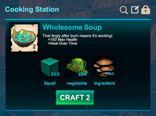 Cooking station-Soup-Wholesome soup-R50