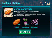 Cooking station-Sandwich-Jerky sandwich-R50