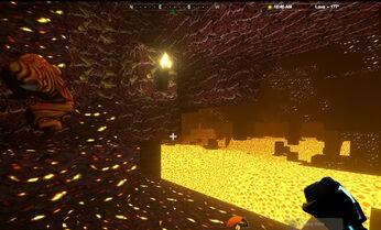Creativerse Lava layer hotfoot lava1