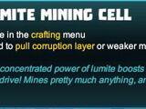 Lumite Mining Cell