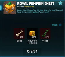 Creativerse royal pumpkin chest crafting recipe 2017-10-28 03-42-26-05
