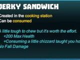 Jerky Sandwich