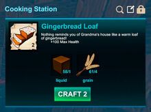 Cooking station-Bread-Gingerbread loaf-R50