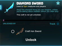 Creativerse sword unlocks R43 43
