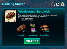 Cooking station-Sandwich-Wholesome sandwich-R50