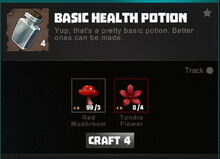 Creativerse crafting recipes R34 Potions 0037