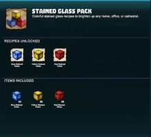 Creativerse R41,5 stained glass pack