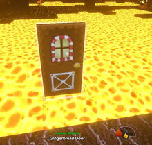 Creativerse door does not burn 2017-09-05 15-08-10-78 door heat test
