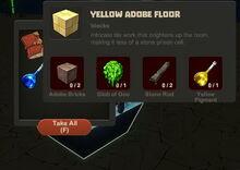 Creativerse Yellow Adobe Floor Obsidian Treasure Chest10