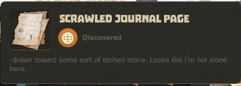 Creativerse data journal page not alone23